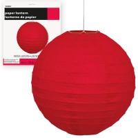 Paper Lanterns 10'' 1CT. Red