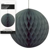 Honeycomb Balls 8'' 1CT. Black