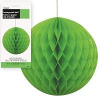 Honeycomb Balls 8'' 1CT. Lime Green