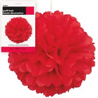 Puff Decor 16'' 1CT.Red