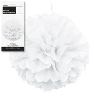 Puff Decor 16'' 1CT. White