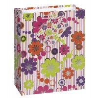 Floral Celebration Medium Matte Gift Bag