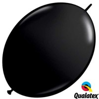 "Onyx Black 12"" Fashion Quick Link (50ct)"