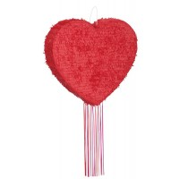 Heart Drum Pull Pop-Out Piñata