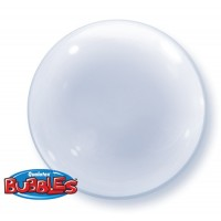 Clear Deco Bubble 20""