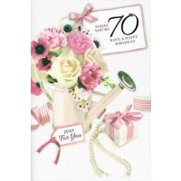 Age 70 - Female - Pack Of 12