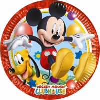 Playful Mickey 9'' Plates 8CT