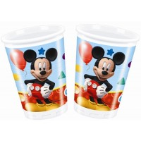 Playful Mickey Cups 200ml 8CT
