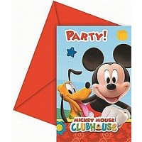 Playful Mickey Invitations & Envelopes