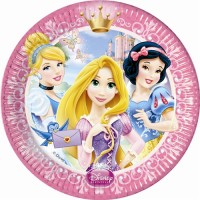 Disney Princess Glamour 9'' Plates 8CT.