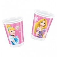 Disney Princess Glamour Cups 200ml 8CT.