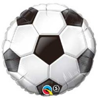 "Soccer Ball - 18"" Foil Balloon"