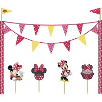 Disney Minnie Cafe Cake Decoration Kit