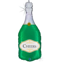 """Champagne Cheers 36"""" Foil Balloon"""