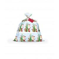 "Santa Jumbo Plastic Gift Bag 36""X44"""