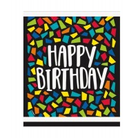 Colourful Mosaic Birthday Loot Bags 8ct
