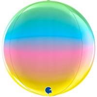 "Rainbow Globe 4D 15"" GRABO"
