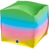 "Rainbow Square 4D 15"" GRABO"