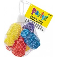 6 Party Bubble Bottles Net Bag - Box of 8