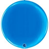 "Blue 15"" 4D Globe"