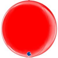 "Red 15"" 4D Globe"
