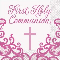 Luncheon Napkins First Holy Communion 16Ct