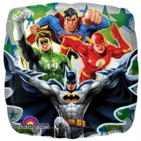 "Justice League 9"" Air Inflation Foil Balloon"