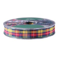 Buchanan Satin Tartan Ribbon (15mm x 20m)