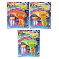 Bubble Gun Friction 3 Astd Cols inc. bubble Tub