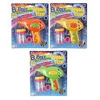 Bubble Gun Friction 3 Astd Cols inc. bubble Tub