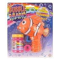 Bubble Gun Friction - Clown Fish inc. bubble Tub