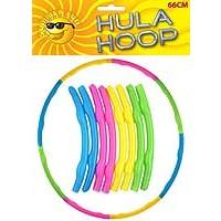 Hula Hoop - 66cm - Astd Cols