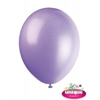 "12"" Lilac Lavender - Helium Quality Balloon 10 CT."