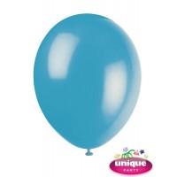 "12"" Turquoise - Helium Quality Balloon 10 CT."