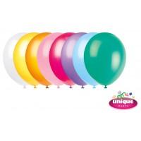 "12"" Standard Colour Assortment - Helium Quality Balloon 10 CT."