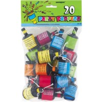 Party Poppers 20ct.