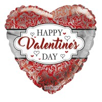 Happy Valentine's Day - Frame  18inch Foil