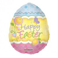 "Easter Egg Balloon 18"" Foil Balloon"