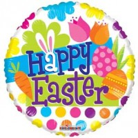 "Happy Easter 18"" Foil Balloon"
