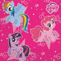 My Little Pony Sparkle Napkins 20ct