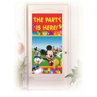 Door Banner - Playful Mickey