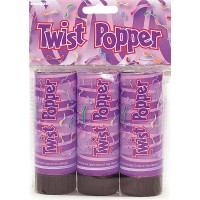 Twist Poppers 11cm 3ct.