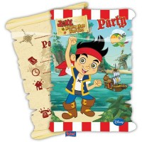 Jake Yo Ho Invitations & Envelopes 6 CT.