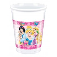 Princess & Animals Plastic Cups 8CT.