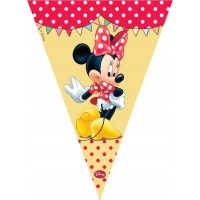 Minnie Cafe Flag Banner