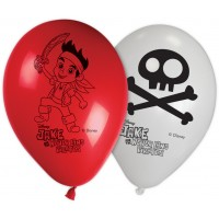 Jake Yo Ho 11'' Printed Balloon 8CT.