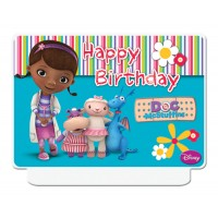 Doc McStuffins ''Happy Birthday'' Decor Candle