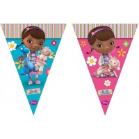 Doc McStuffins Triangle Flag Banner