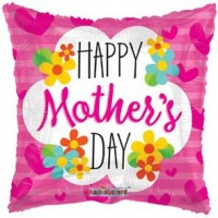 "Happy Mothers Day 18"" Foil Balloon"