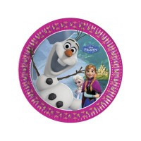 Frozen 7'' Plates 8CT.
